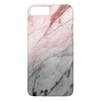 Marble Texture (Grey Red) iPhone 8 Plus/7 Plus Case
