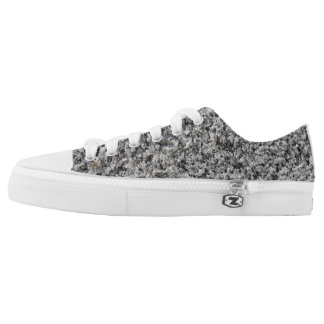 Marble texture Low-Top sneakers