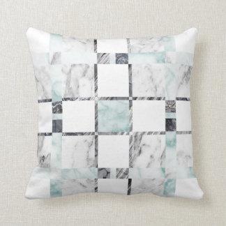 Marble Tile Print Pillow