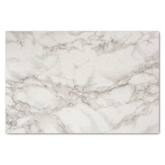Marble white and gray tissue paper