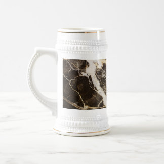 Marbled-Abstract Expressionism by Shirley Taylor 18 Oz Beer Stein