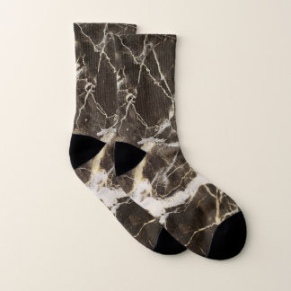 Marbled-Abstract Expressionism by Shirley Taylor Socks