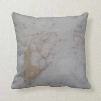 Marbled effect cushion