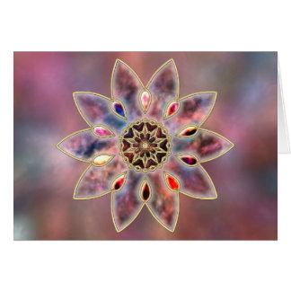 Marbled Galaxies Card