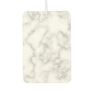 Marbled Gray White Marble Stone Pattern Background Car Air Freshener