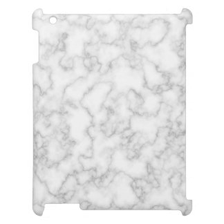 Marbled Gray White Marble Stone Pattern Background Case For The iPad 2 3 4