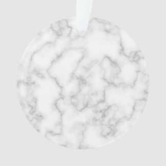 Marbled Gray White Marble Stone Pattern Background Ornament
