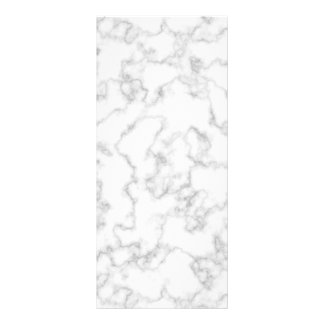 Marbled Gray White Marble Stone Pattern Background Rack Card