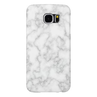 Marbled Gray White Marble Stone Pattern Background Samsung Galaxy S6 Cases