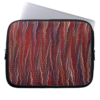 Marbled Paper Background Laptop Computer Sleeve
