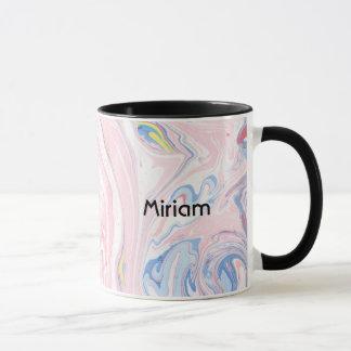 Marbled Paper Mug