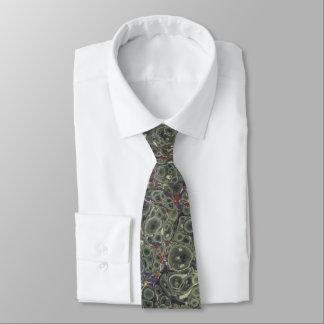 Marbled Paper Tie