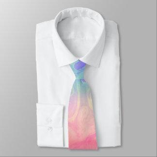 Marbled Rainbow Tie