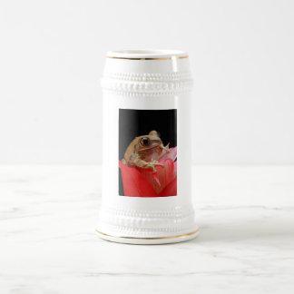 Marbled Reed Frog Beer Stein