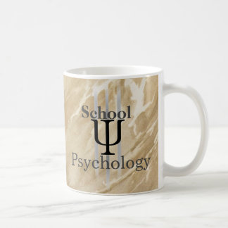Marbled School Psychology Coffee Mug