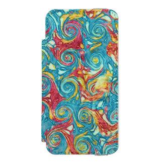 Marbled Swirls Incipio Watson™ iPhone 5 Wallet Case