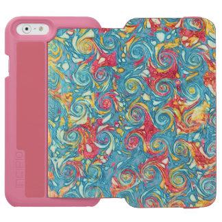 Marbled Swirls Incipio Watson™ iPhone 6 Wallet Case