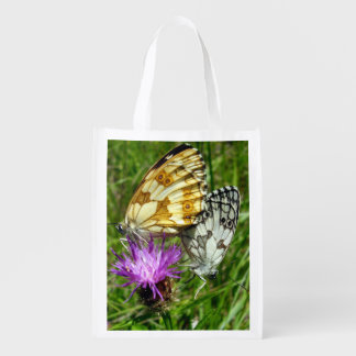 Marbled White Butterflies Reusable Bag