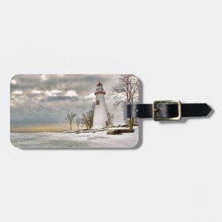 Marblehead Lighthouse Luggage Tag