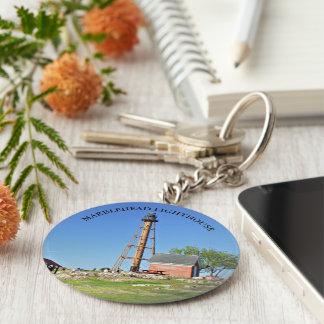 Marblehead Lighthouse, Massachusetts Keychain