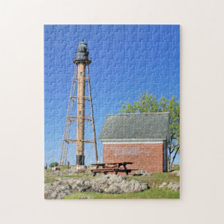 Marblehead Lighthouse, Massachusetts MA Puzzle