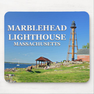 Marblehead Lighthouse, Massachusetts Mousepad
