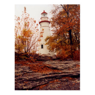 Marblehead lighthouse postcard