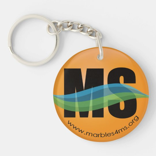 Marbles4MS Marbles Keychain