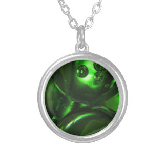 marbles-861-eop silver plated necklace