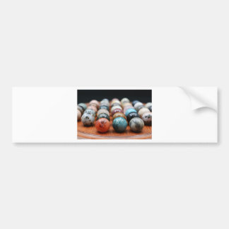 Marbles Bumper Sticker