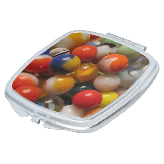 Marbles Compact Mirror