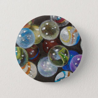 MARBLES GALORE 2 INCH ROUND BUTTON