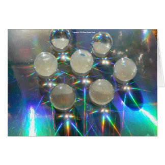 Marbles on Holograph Card