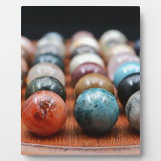 Marbles Plaque