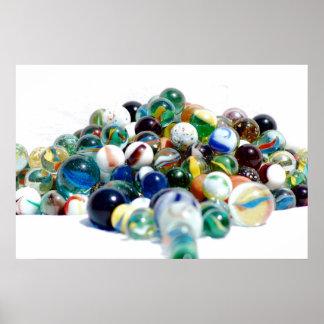 marbles print