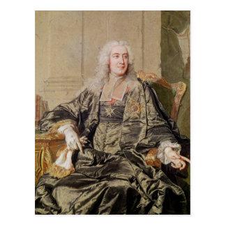 Marc Pierre de Voyer  Count of Argenson Postcard