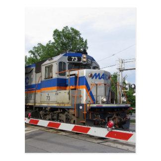 MARC Train Postcard