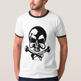 Marc Vachon Tee White OG Skull
