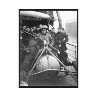 Marcel Dupuy,young Belgian whose father_War Image Canvas Print