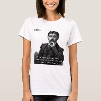 Marcel Proust & Famous Quote T-Shirt