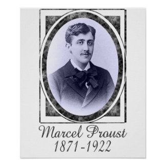 Marcel Proust Poster