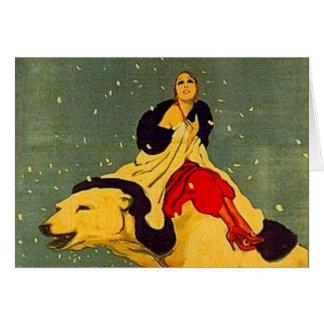 Marcello Dudovich Art Deco Polar Bear Padova Card