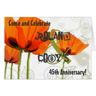 March 23 Jonker Anniversary Save the Date Card