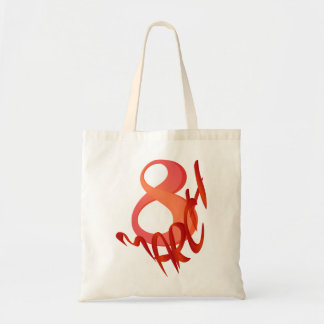 March 8 tote bag