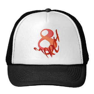 March 8 trucker hat