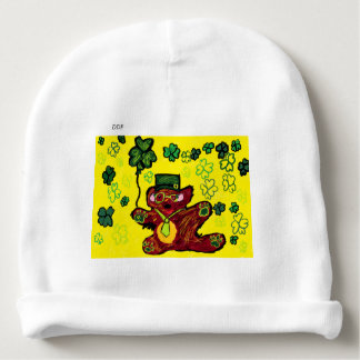 march bear baby beanie