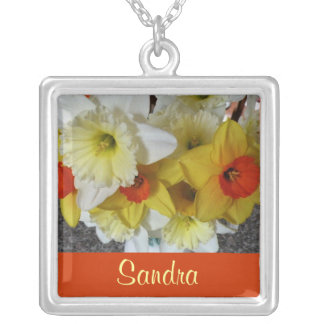 MARCH Birth Flower - Daffodil Necklace