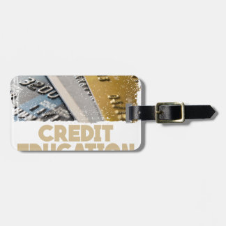March - Credit Education Month - Appreciation Day Luggage Tag