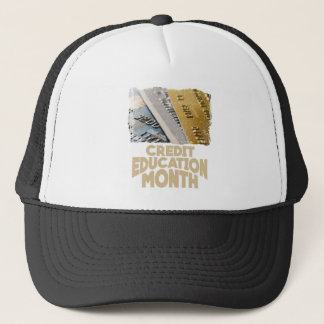 March - Credit Education Month - Appreciation Day Trucker Hat