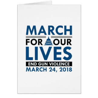 March For Our Lives Card